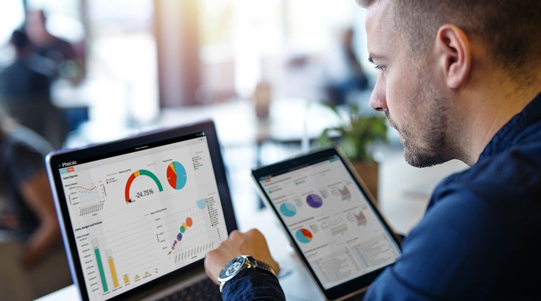 IFS ERP integrates with Phocas for fast and flexible data analytics