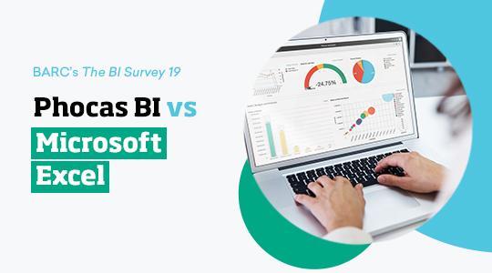 Phocas BI vs. Microsoft Excel