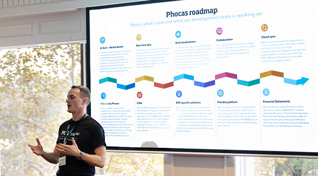 Phocas' product roadmap a hit at PUG.live