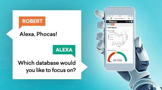 Amazon Alexa and Phocas push the boundaries of business intelligence