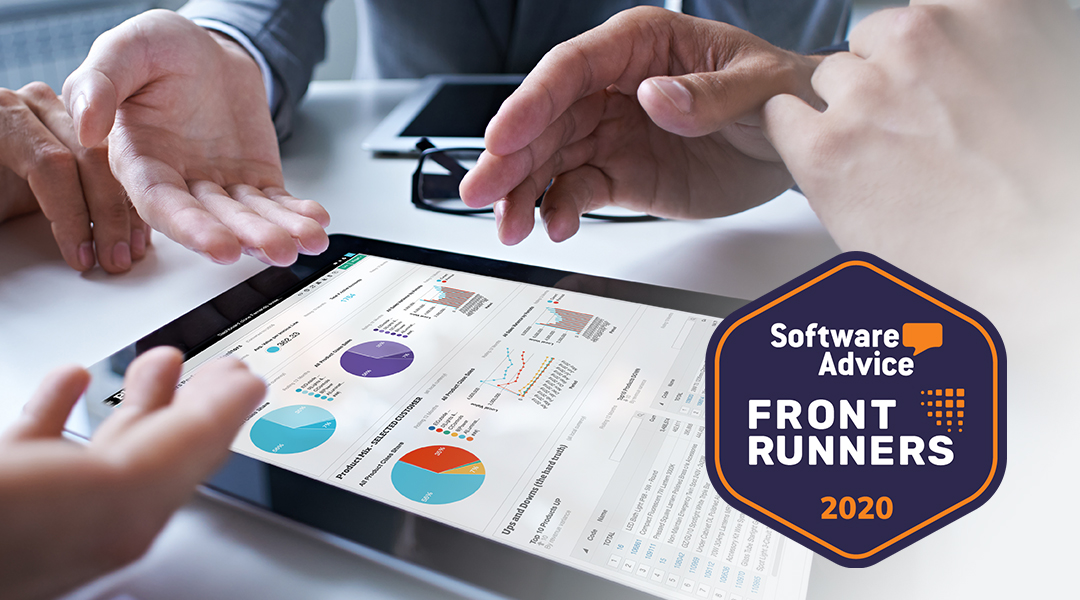 Phocas is the clear business intelligence software leader in Software Advice report