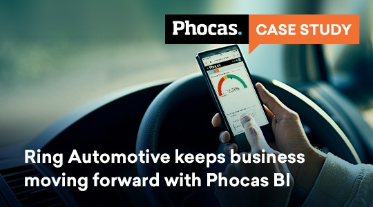 Ring Automotive keeps business moving forward with Phocas business intelligence