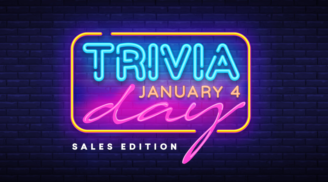 National trivia day: Test your knowledge of data analytics in the context of a sales department