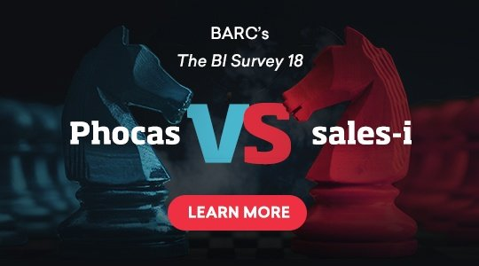 Phocas BI vs. sales-I