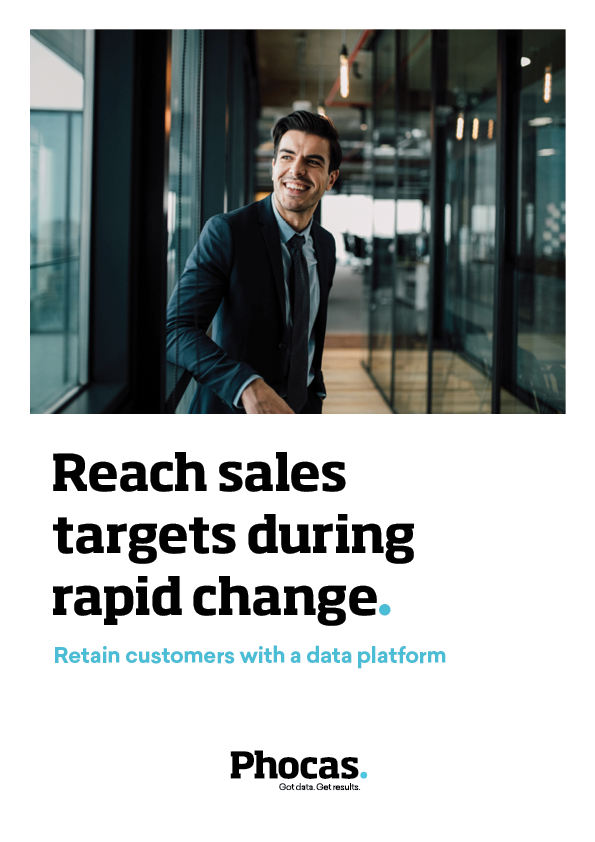Reach sales targets during rapid change
