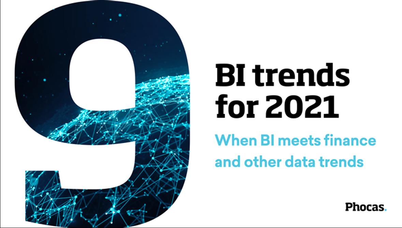 9 BI trends for 2021