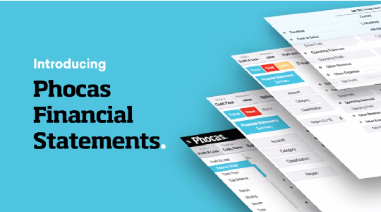 Phocas Financial Statements launches
