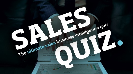 The Ultimate Sales Business Intelligence Quiz